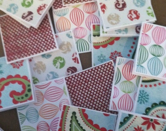All That Glitters Note Cards / Gift Tags / Place Cards Set Of 20