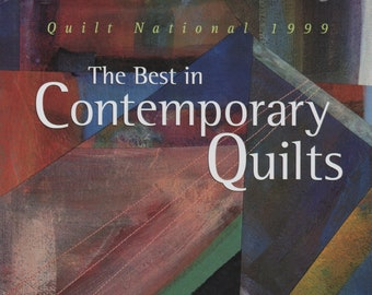 Free Shipping***The Best in Contemporary Quilts: Quilt National, 1999 Hardcover – June 1, 1999