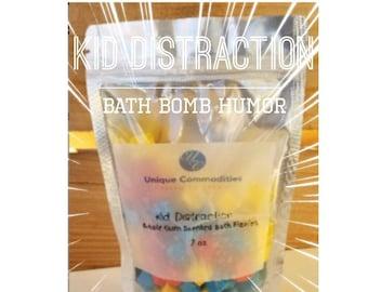 Bath Bomb Fizzies, Kid Bath Fizzies, Fizzy Color Drops, Bath Fun for Kids, Primary Color Fizzies Bubblegum Fizzies