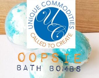 OOPSIE BATH BOMBS Bath Fizzies Randomly selected for you