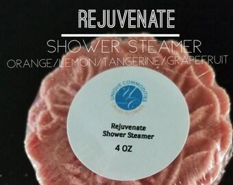 Rejuvenate Shower Steamer,  Energize Shower Steamers Mooncake Shower Steamers, Moon Cake Shower Steamer