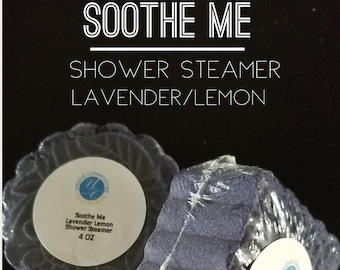 Soothe Me Shower Steamer,  Relax Shower Steamers Mooncake Shower Steamers, Moon Cake Shower Steamer