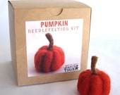 Pumpkin Needle Felting Kits