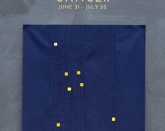 Cancer Constellation Block PDF pattern - Quilting Patchwork