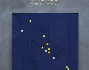 Taurus Constellation Block PDF pattern - Quilting Patchwork