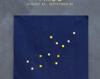 Virgo Constellation Block PDF pattern - Quilting Patchwork