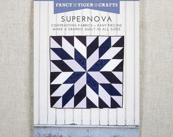 Supernova Paper Quilt Pattern