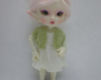 Realpuki Knitted Cardigan in Green