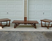 Adrian Pearsall Style Tables, Pearsall End Tables, Pearsall Coffee Table, Craft Associates Table, Boomerang Legs, Local Pickup Only