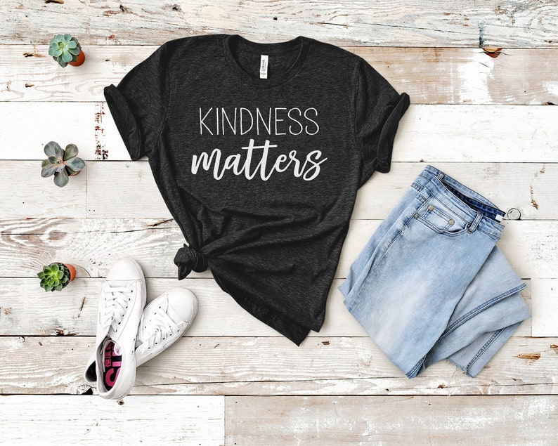 Kindness matters t-shirt image 0