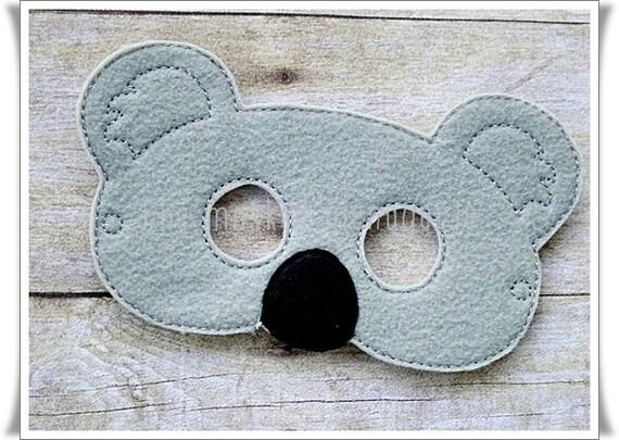 Koala Bear Mask Halloween Pretend Play Creative