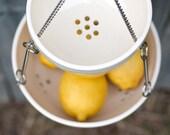Hanging Fruit Basket - Kitchen Storage - Hanging Fruit Bowl - Pottery