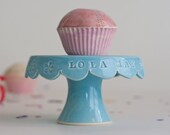 First Birthday Gift, Personalized Cupcake Stand, Custom Birthday Gift, Baby Gift, Photo Prop, Keepsake