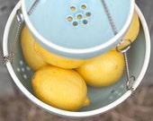 Hanging Fruit Basket - Kitchen Hanging Storage - Fruit Bowls - Pottery - Hanging Bowls
