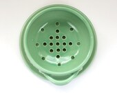 Berry Bowl - Fruit Strainer - Pottery Colander with Strainer - Housewarming Gift - size and color options