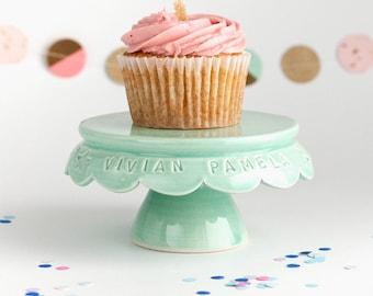 Cupcake Stand - Personalized Birthday Cupcake Stand