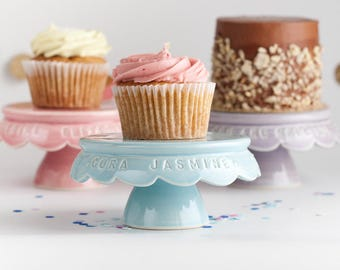 Cupcake Stand - Personalized Birthday Cupcake Stand
