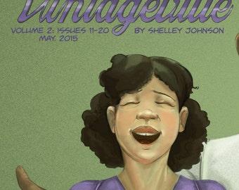 Vintageville Volume 2 Black and White indie comic book