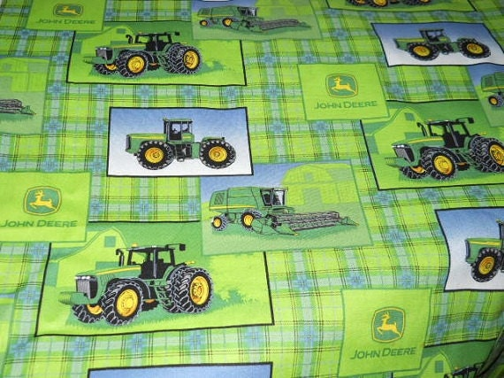 madiebs john deere green blue 3pc set kinder nap mat pad. Black Bedroom Furniture Sets. Home Design Ideas