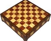 Hackberry, Bubinga and Walnut Chess Box