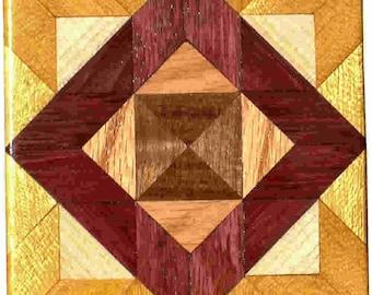 Bright ASC Quilt Block