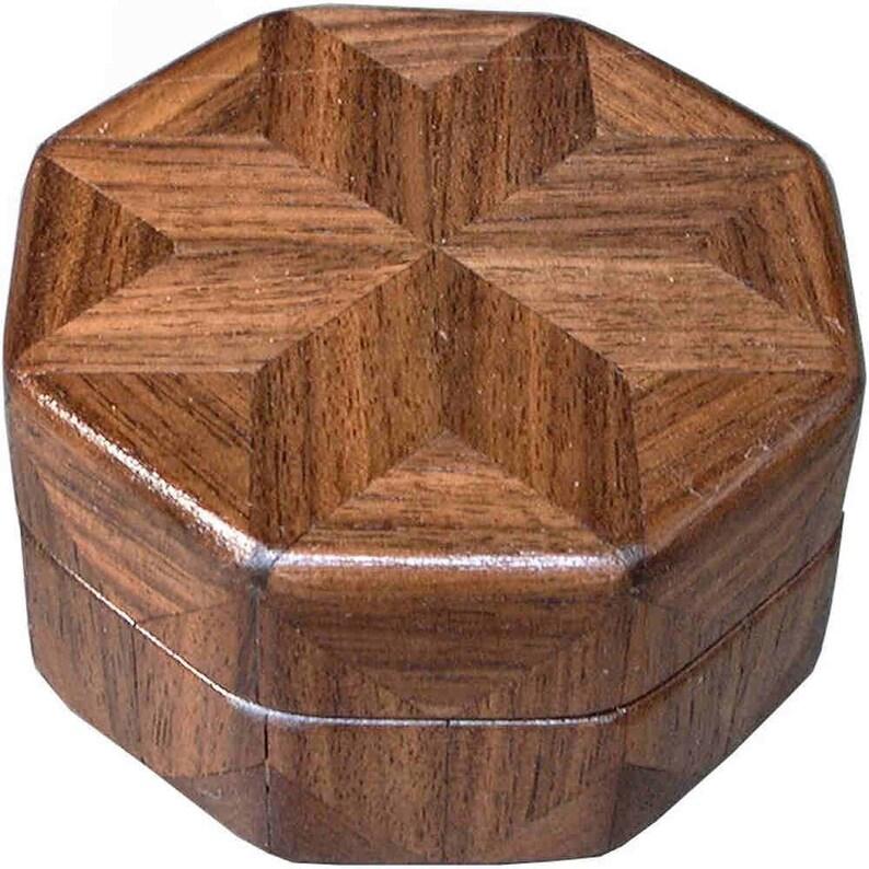 Walnut Ring Box image 0