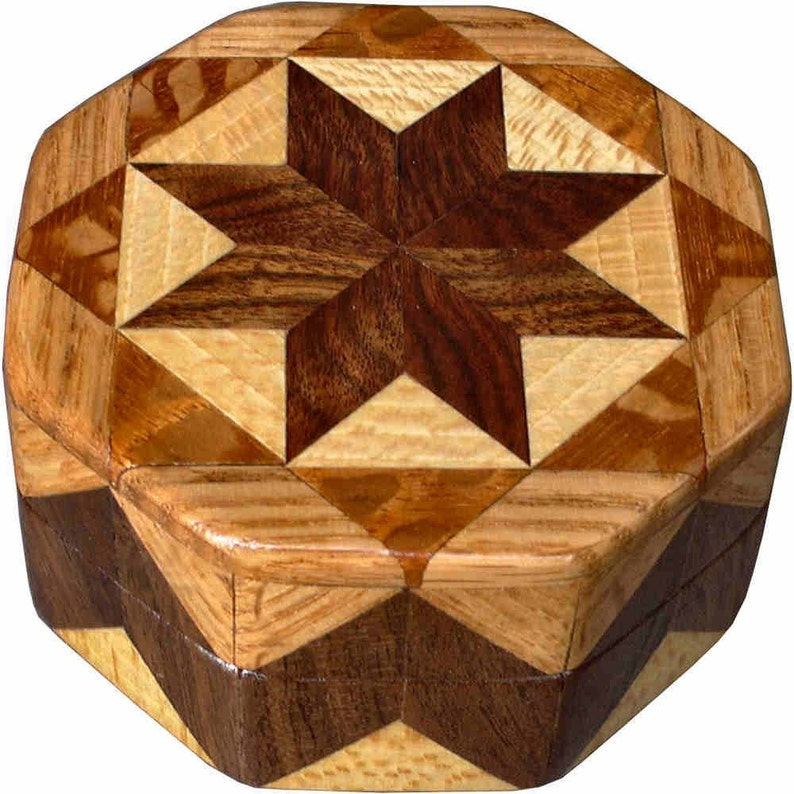 Brown Tone Ring Box image 0