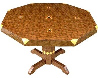Large Aunt Sukeys Choice Walnut Table
