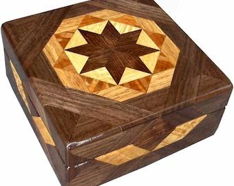 Brown Tone Square Box