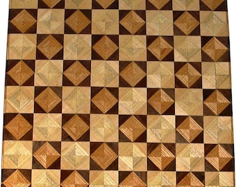 Ky Coffee-Wal Hb-Maple 8TS chess board