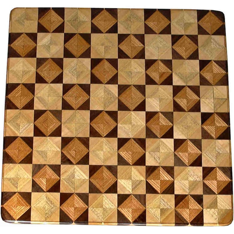 Ky Coffee-Wal Hb-Maple 8TS chess board image 0