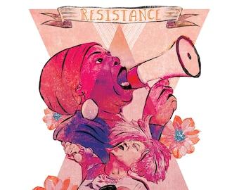 RESISTANCE is the SECRET of JOY poster!