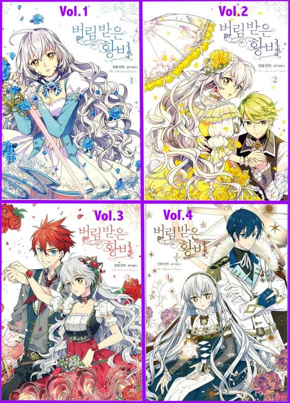 Reserved for Vani Manga All 4 books The Abandoned   Etsy