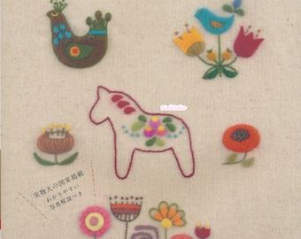 Needle Felting Embroidery n38957 - Japanese Craft Book