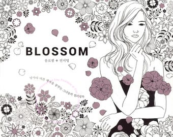 Blossom -  Coloring Book for Adults