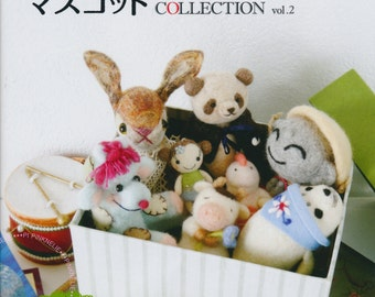 Needle Felting MASCOTS COLLECTION  vol2 Japanese Craft Book