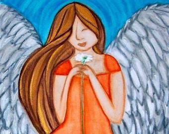 Angel Giclee Print 8x10