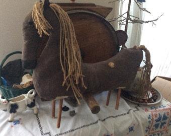 PrimitiveDoll,  Horse, Primitive Decor