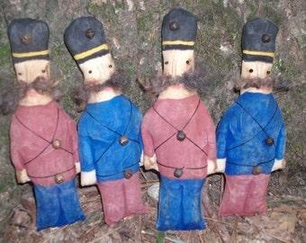 Primitive Toy Soldiers