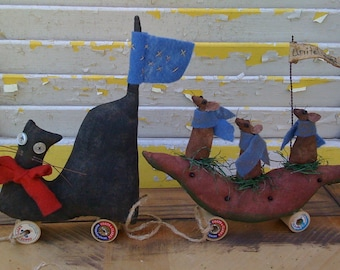 Primitive Cat and Mouse Parade