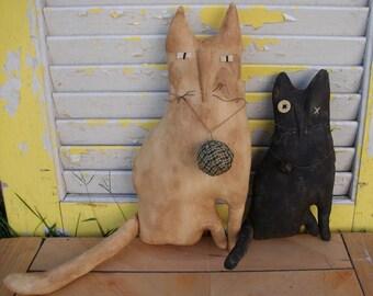Primitive Cats Millie N Tuck Set
