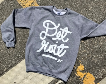 Detroit signature sweatshirt