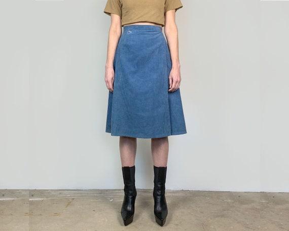 70s Lacoste Wrap Skirt