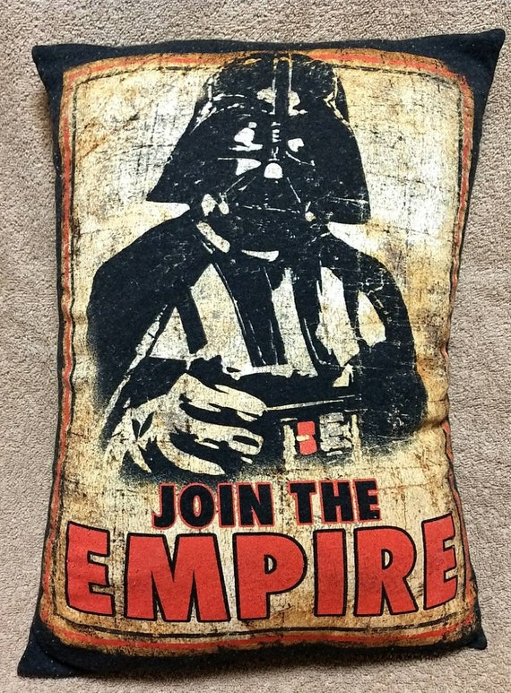 Star Wars Join The Empire Darth Vader 20 By 14 Etsy