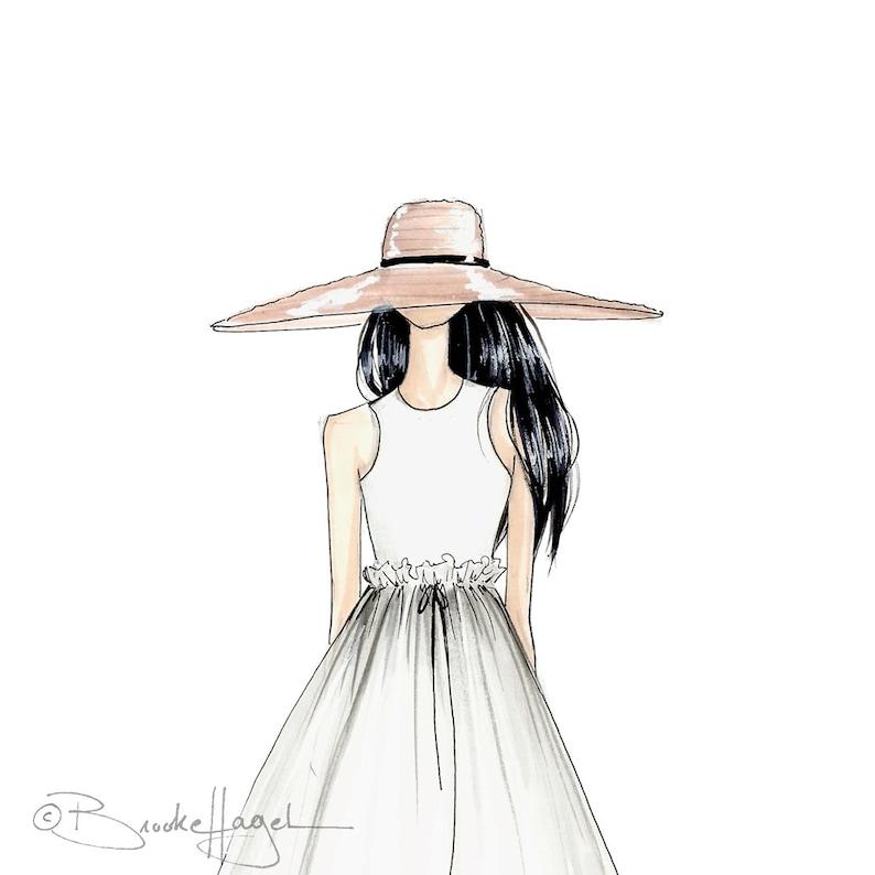 c8899b330bd Abigail-Fashion Illustration-Sketch-Fashion Print-Fashion