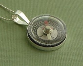 Clock Compass Testing Necklace