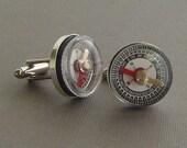 Testing Compass Adventurer Cufflinks