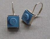 Little Lego Sterling Earrings