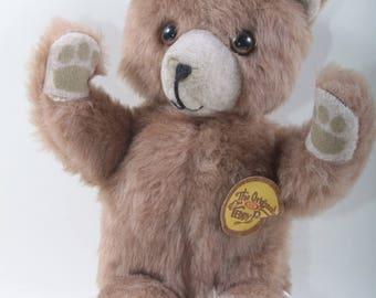 9c81fbc0be The Original Teddy Bear Soft Plush Brown Bear Toy Animal Ideal Toy Children  Vintage Toys Vintage Nostalgia ~ 160928