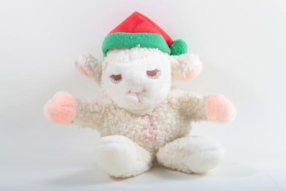 Avon Lamb Chop Hand Puppet Vintage Christmas Toy Soft Etsy